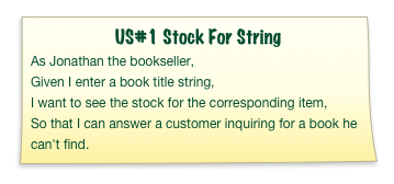 US#1 Stock For String